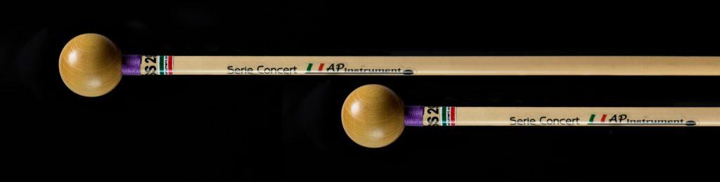 bacchette percussioni artigianali xilofono