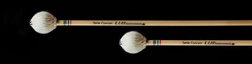 bacchette percussioni artigianali vibrafono