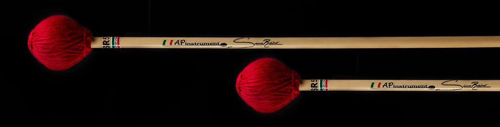 bacchette percussioni artigianali marimba