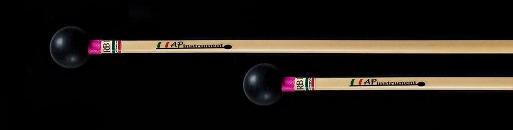 bacchette percussioni artigianali xilofono glockenspiel
